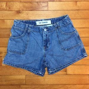 Gap Denim Shorts with Button Pockets